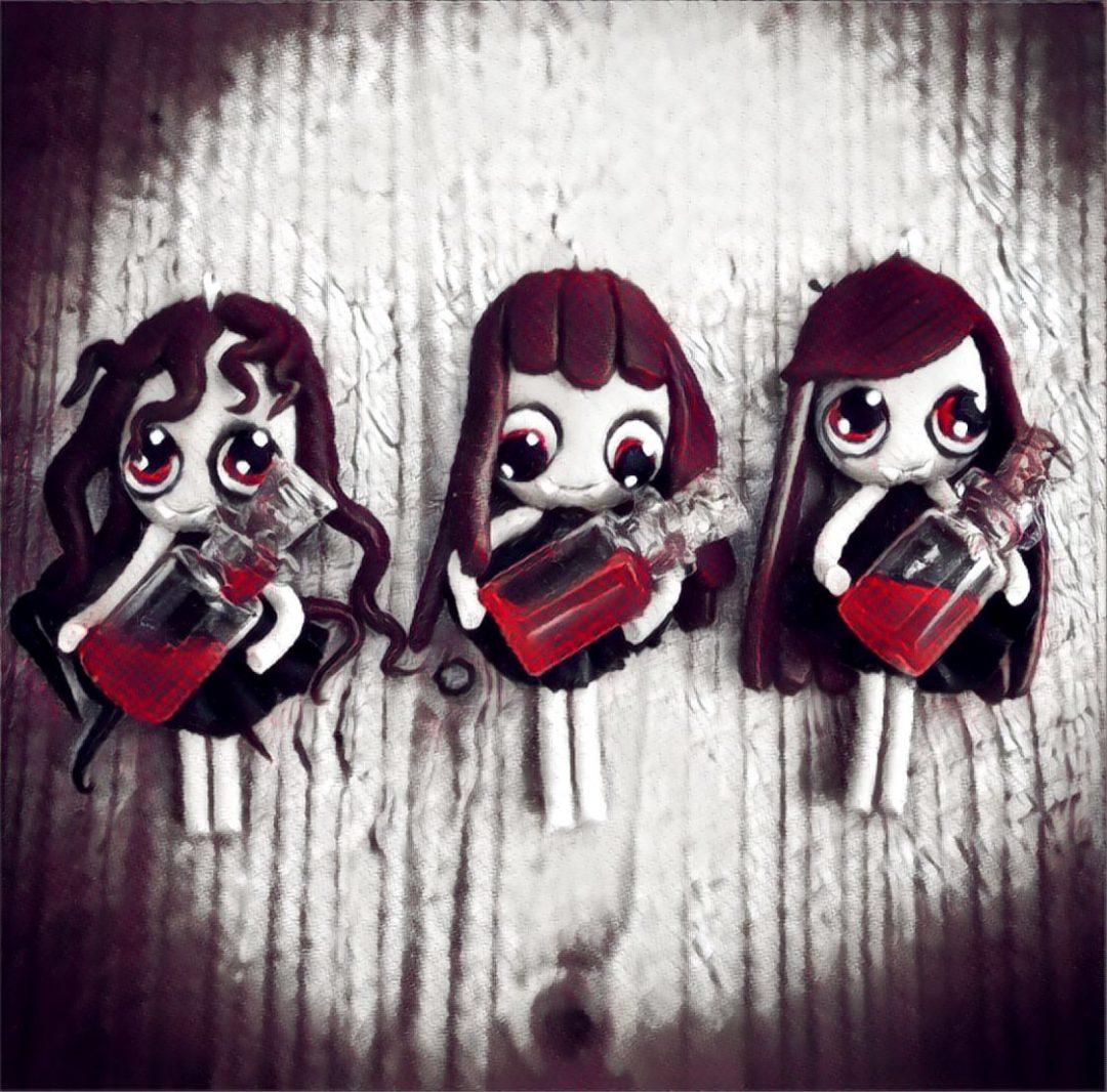 Fimo Vampires
