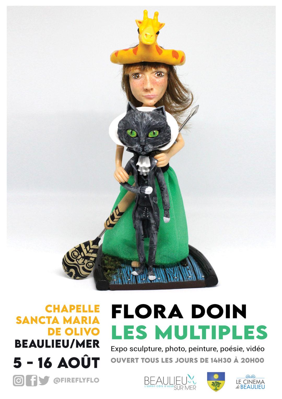 "Exposition ""Les Multiples"" - Flora Doin - Beaulieu-sur-mer"